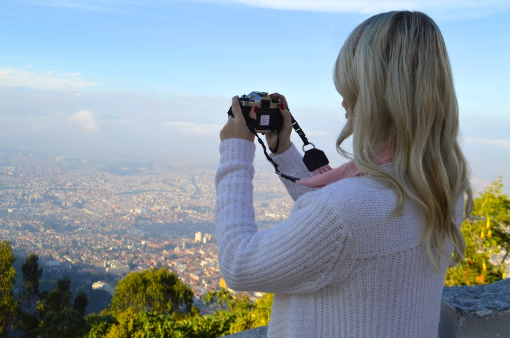 Visiting Monserrate in Bogotá